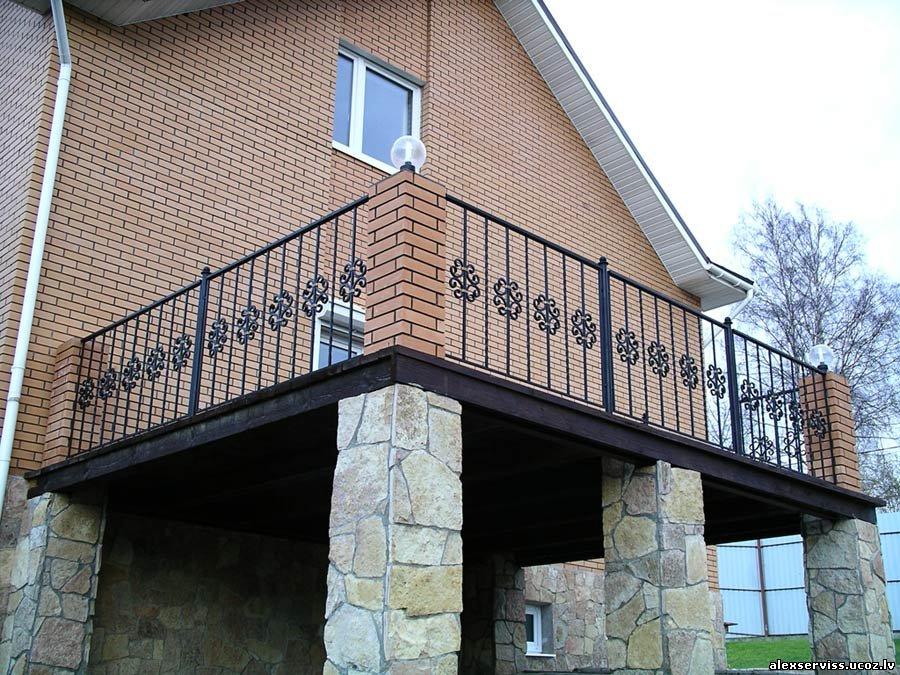 """Кованые балконы """" страница 6."""